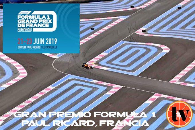 Francia Paul Ricard ver f1 online gratis