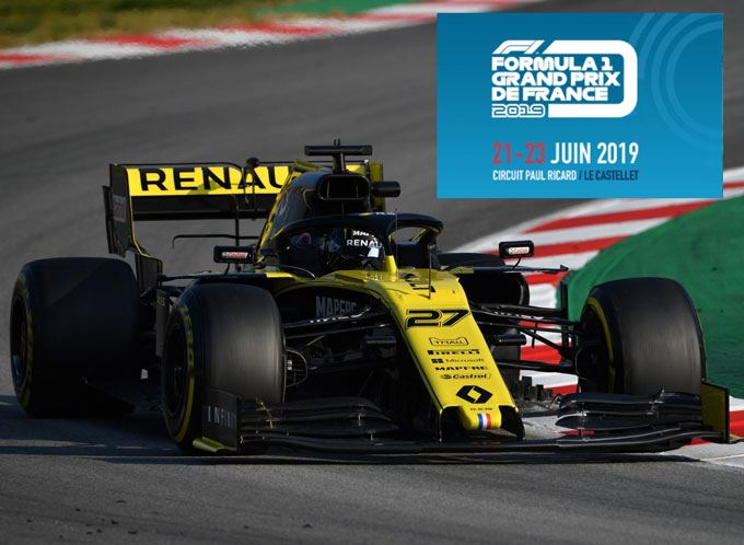Renault-RS19 Francia Paul Ricard ver f1 online gratis
