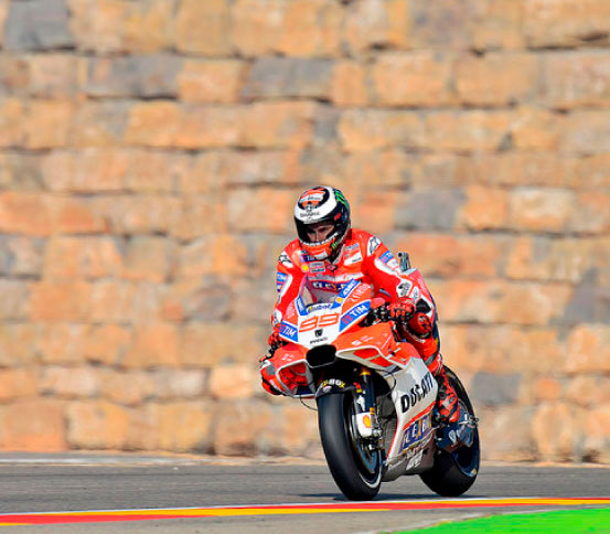 Lorenzo MotoGP Gran Premio Aragon Gratis