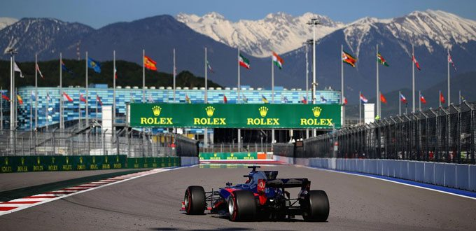 Rusia Ver Formula 1 online gratis