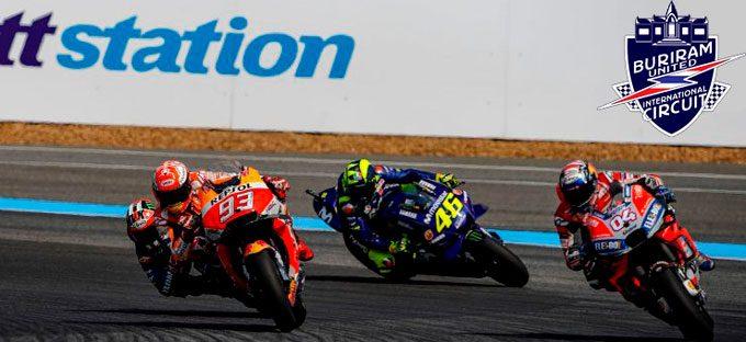 Circuito Buriram Tailandia Ver MotoGP Gratis Online