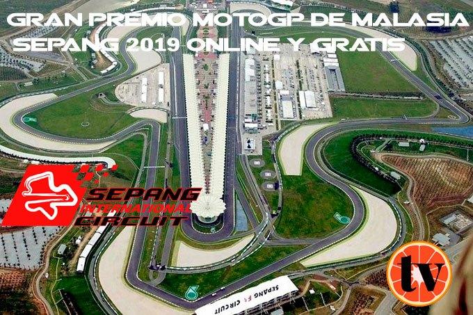 Sepang Malaysia ver MotoGP gratis