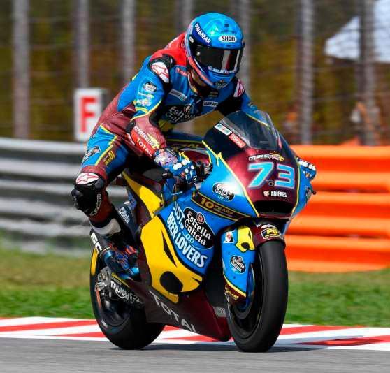Alex Marquez Campeon Moto 2