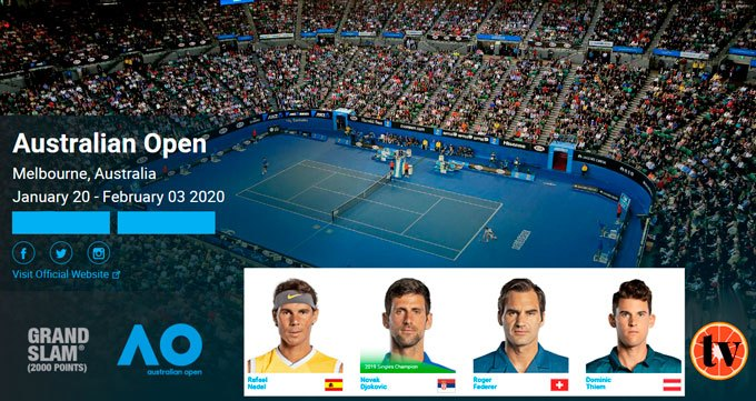 Ver Tenis Gratias Open de Australia