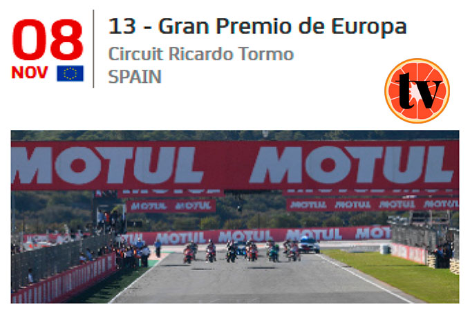 2020-MotoGP-Europa Ver MotoGP Gratis
