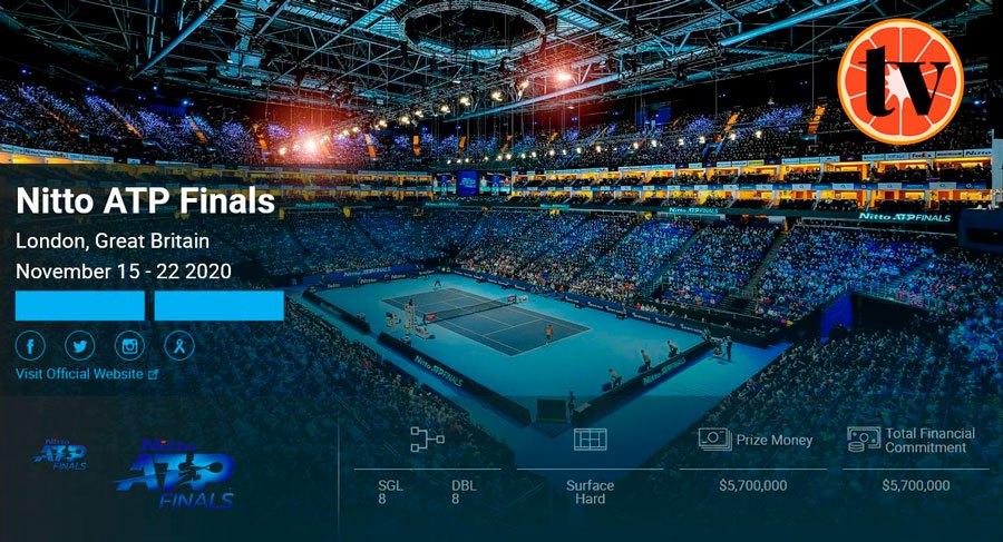 2020-Nitto-Londres Ver Tenis Gratis