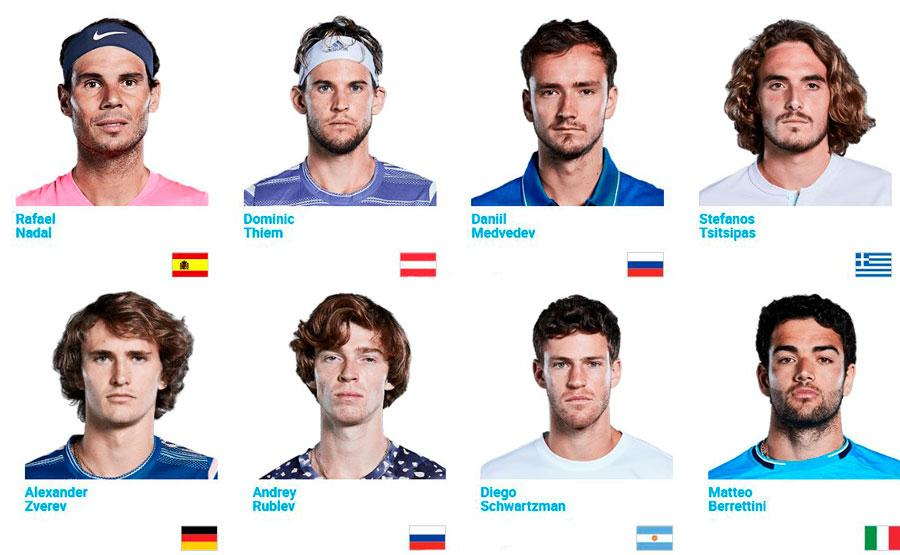 2020-Paris-Bercy-players ver Tenis Online