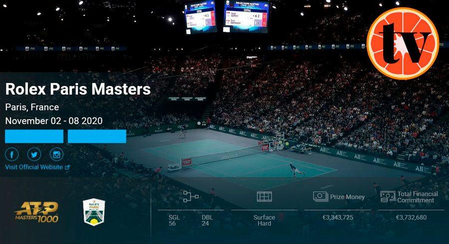 2020-Paris-Bercy Ver Tenis en Directo