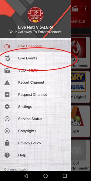 LiveNetTV-live-events Ver TV Gratis