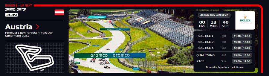 Estiria Ver F1 Gratis