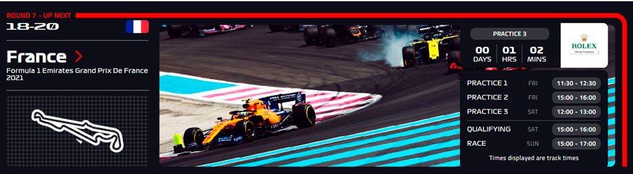 Francia Ver F1 Gratis